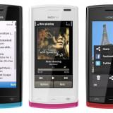 Nokia 500 - Telefon mobil Nokia 500, Smartphone, Touchscreen, Wi-Fi: 1, GPS: 1, Bluetooth: 1