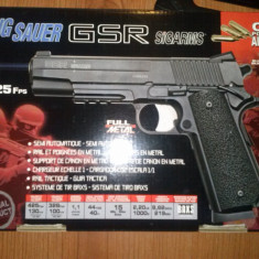 Pistol SIG SAUER CO2, FULL METAL - Arma Airsoft