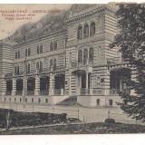 Carti Postale Romania dupa 1918, Circulata - Carte postala(ilustrata)-Baile Herculane-Tribunalul anul 1932