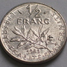 1/2 franci 1970