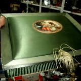 Cutie textil franta veche deosebita