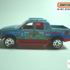 MATCHBOX 2001-04 HERO CITY, FORD EXPLORER SPORT TRACK ++2100 DE LICITATII !! - Macheta auto Matchbox, 1:64