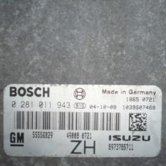 ECU auto - ECU calculator opel astra h 1, 7 cdti model Z 17 DTL an 2005