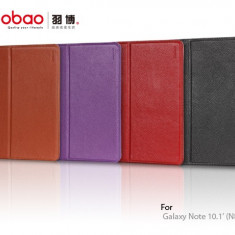 Husa Executive Case Piele Naturala Samsung Galaxy Note 10.1 N8000 by Yoobao Originala Brown - Husa Tableta