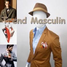 Batista Barbati - Batista de Buzunar Fashion Alba Cercuri Color