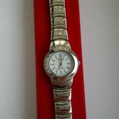 Ceas de Dama Rolex, Casual, Analog, Inox - OFERTA ceas dama ROLEX pe bratara inox (alb) NOU CUTIE + BATERIE CADOU