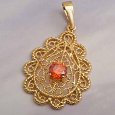 Pandantiv filat cu aur de 9 k - Pandantiv placate cu aur