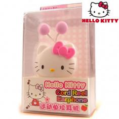 Handsfree GSM - Handfree casti telefon Hello Kitty