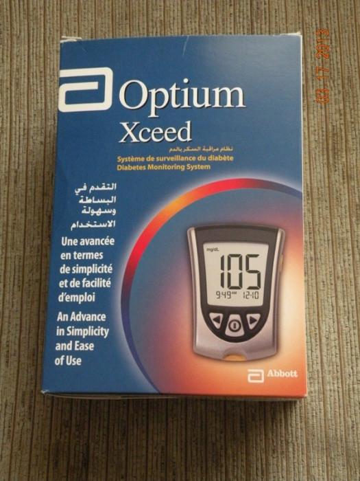 Aparat de glicemie Optium Xceed. Absolut Nou!!! foto mare