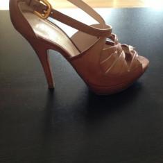 Sandale Prada - Sandale dama Prada, Marime: 37, Culoare: Nude, Nude