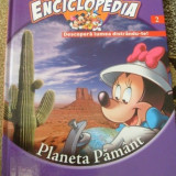 Enciclopedia Disney-Volumul 2-Planeta Pamant- - Carte educativa