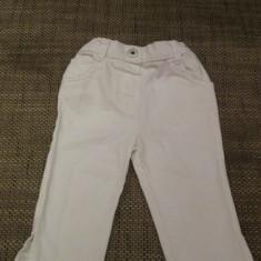 Blugi 1 1/2 - 2 ani 90 cm albi Mark & Spencer