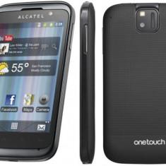 Alcatel OT 991 - Telefon Alcatel, Negru, Orange