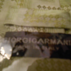 CRAVATA MATASE NATURALA MOTIV FLORAL NUANTE DE VERDE - Cravata Barbati Giorgio Armani, Geometric