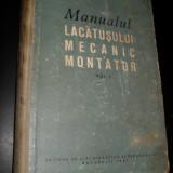 Carti Mecanica - Radu Bordea-Manualul lacatusului mecanic montator