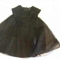 Rochita copii NOUA pt. ocazii SUPERBA -GAP mar.58 cm, Culoare: Negru