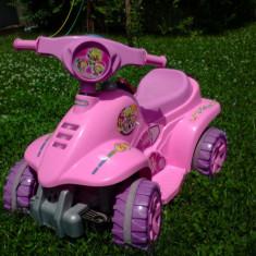 ATV Mini Quad RS Biemme - Masinuta electrica copii Biemme, 2-4 ani, Fata, Roz