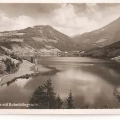 CPI (B2693) AUSTRIA, LUNZERSEE MIT SCHELBLINGSTEIN, NECIRCULATA, Europa, Fotografie
