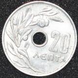 1573 GRECIA 20 LEPTA 1969
