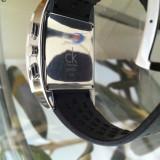 Vand ceas original Calvin Klein - Ceas barbatesc Calvin Klein, Quartz, Piele, Analog