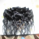Extensii din par natural clip on, culoare neagra - Extensii par BeautyUkCosmetics