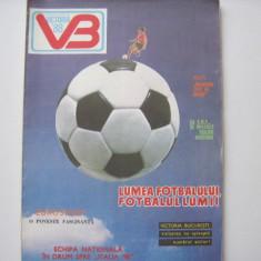 Revista fotbal - VICTORIA BUCURESTI 1988