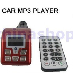 Modulator Wifi FM Auto cu Bluetooth, Mp3 si Car Kit - Modulator FM auto