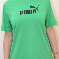 Tricou copii Puma diverse modele/culori, ORIGINALE, bumbac - LICHIDARE STOC, Culoare: Albastru, Negru, Verde, Unisex