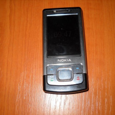 Telefon Nokia, Argintiu, Nu se aplica, Neblocat, Single core, Nu se aplica - NOKIA 6500s