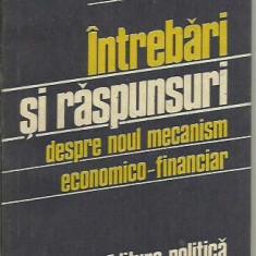 IONEL DUMBRAVA - INTREBARI SI RASPUNSURI DESPRE NOUL MECANISM ECONOMICO-FINANCIAR