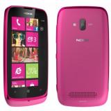 Vand nokia lumia 610 roz - Telefon mobil Nokia Lumia 610, Neblocat