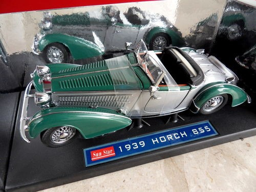 Horch 855 Roadster 1939 1/18 foto mare