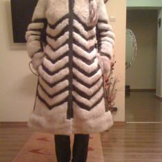 Vand haina nurca model deosebit - Palton dama, Marime: M