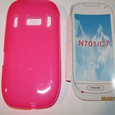 Husa silicon Nokia 701 C7 - Husa Telefon