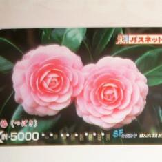 Cartela / Card Japonia - ARTA, FLORA, FLORI -   2+1 gratis toate licitatiile - RBK2388
