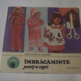 Carte design vestimentar - NATALIA TAUTU-STANESCU - IMBRACAMINTE PENTRU COPII
