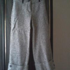Pantaloni dama, Trei-sferturi, Lana - Pantaloni trei sferturi