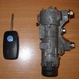 Contact auto - Set contact cheie briceag 2 butoane VW Golf Bora Octavia