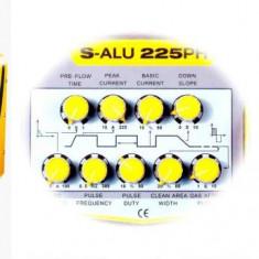Aparat de sudura invertor TIG MMA 225 A, 333A argon sudura aluminiu ALUM225, ALUM333