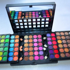 Trusa make up Mac Cosmetics profesionala fard paleta 96 farduri culori MAC / M.A.C.