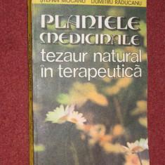PLANTELE MEDICINALE TEZAUR NATURAL IN TERAPEUTICA - STEFAN MOCANU, DUMITRU RADUCANU - Carte tratamente naturiste