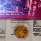 * Moneda 5000 lei 2000 - 2000 de ani de creştinism - aur proof - 1 oz - tiraj 1000 - Moneda Romania