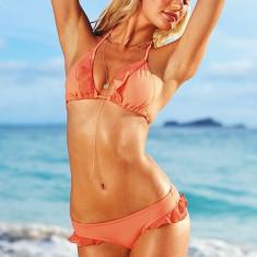 Costum de baie Victoria's Secret exceptional - Marime S, Marime: S, Culoare: Piersica, Doua piese
