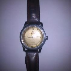 Ceas Barbatesc omega, Casual, Mecanic-Automatic, Inox, Piele, 1940 - 1969 - Ceas Omega Seamaster Automatic