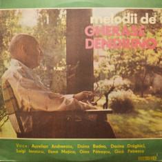 MELODII DE GHERASE DENDRINO, VINYL MUZICA USOARA POP VOCE AURELIAN ANDREESCU, DOINA BADEA, DORINA DRAGHICI, LUIGI IONESCU, ILONA MOTICA, GICA PETRESCU, - Muzica Dance, VINIL