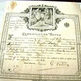 Certificat de Botez - 7 Aprilie 1913 - Ilfov