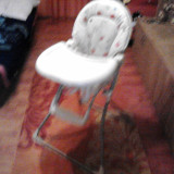 Scaun de masa bebelusi, Altele, Alb - Scaun pentru bebelusi de luat masa