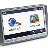 GPS (navigatie) GARMIN Nuvi 250/card reader *** FULL EUROPA + ROMANIA***, Car Sat Nav, Harta online, Redare audio, Sugestii multiple de cai, Touch-screen display
