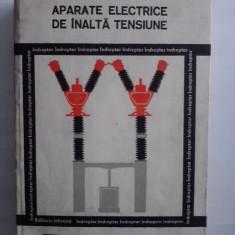 Carti Energetica - Aparate electrice de inalta tensiune / Indreptar - Bercu Hersovici