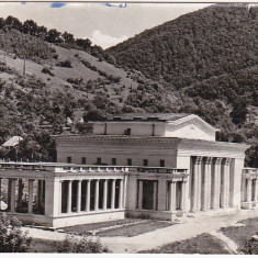 Carti Postale Romania dupa 1918 - RPR, CP circulata 1966, Baia Mare, Teatrul ve vara